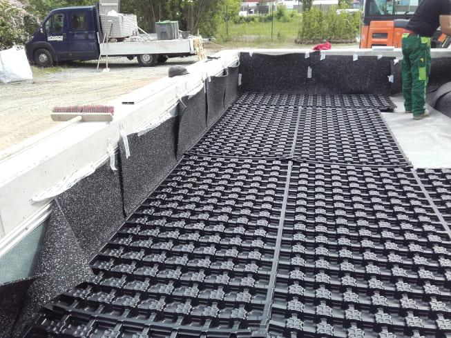 Referenzbild - Dachbegrünung einer Tiefgarage in Leipzig