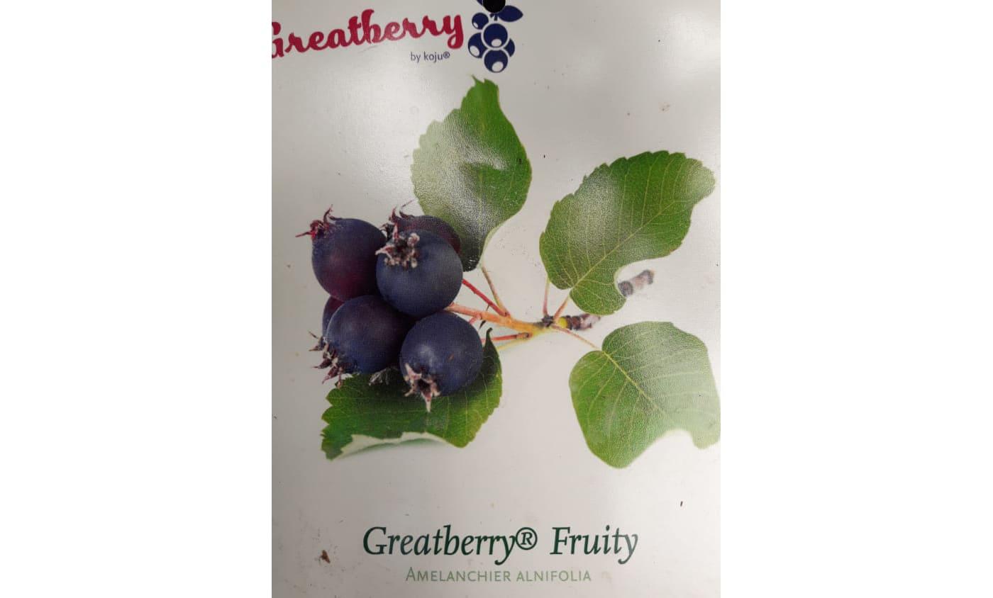 Obstlieferung eingetroffen
